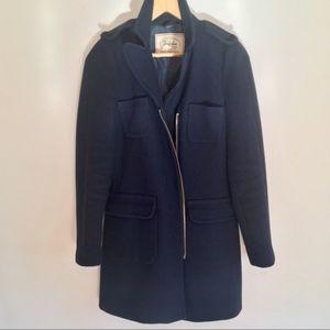 Great Condition Navy Zara Coat